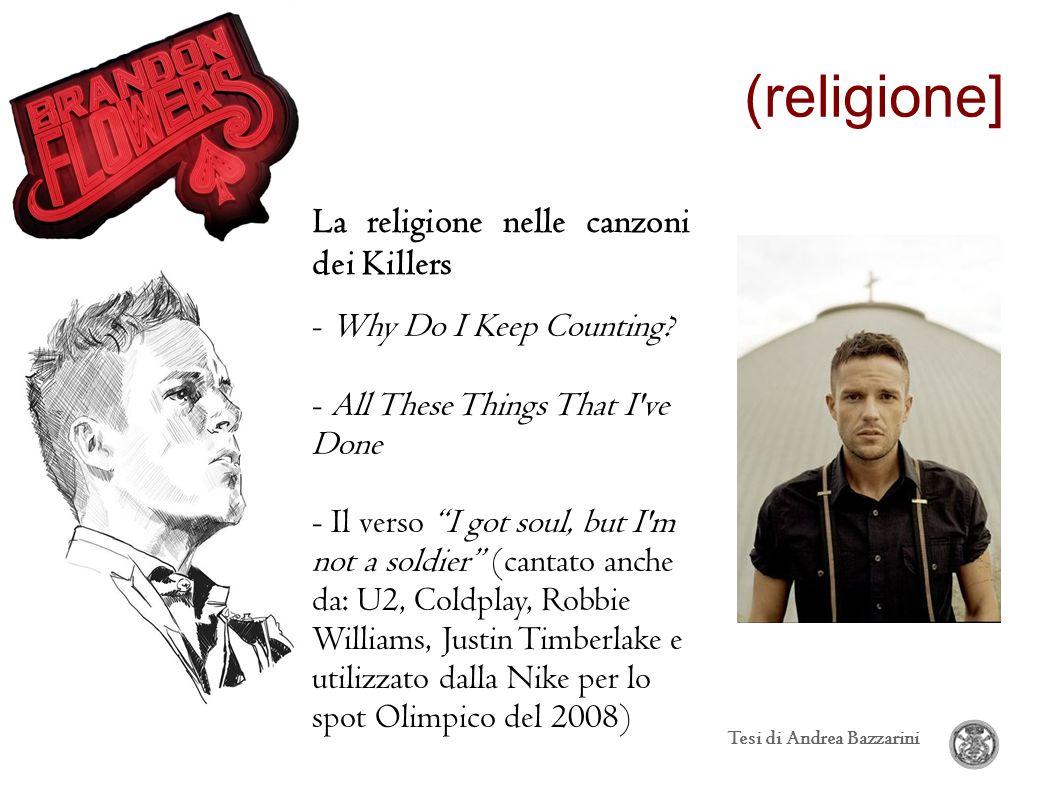(religione] La religione nelle canzoni dei Killers